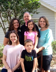 Ted Geltner and Family
