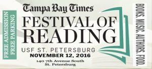 2016 Tampa Bay Times Festival of Reading | Nov. 12th